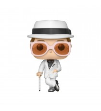 Figurine Musique Rock - Elton John White Costume Pop 10cm