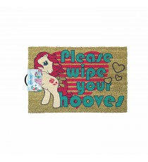 Paillasson My Little Pony - Retro Please Wipe Your Hooves 40 x 60cm
