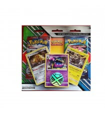 Pokemon - Pack 2 Booster + 3 Carte Promo