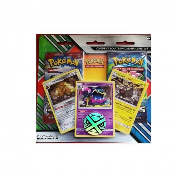 Pokemon - Pack 2 Booster + 3 Carte Promo
