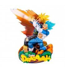 Figurine DBZ - Vegeta & Trunks Super Master Star Piece 20cm