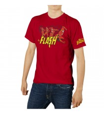 T-Shirt DC Universe - The Flash Crimson Comet Homme Rouge Taille M