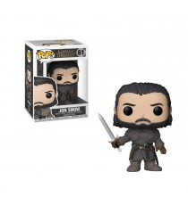 Figurine Game Of Thrones - Jon Snow Version Beyond The Wall Pop 10cm