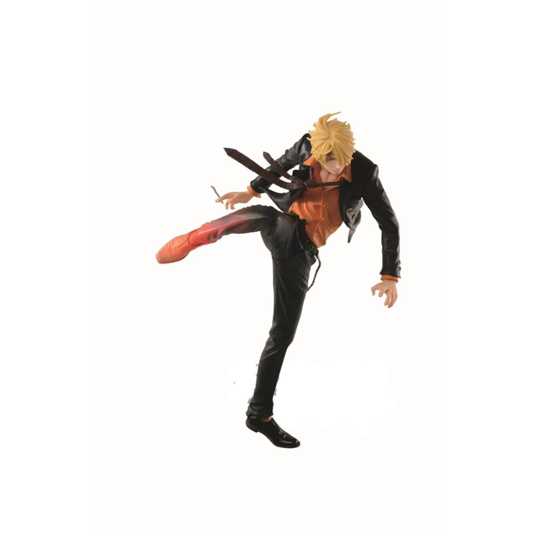 Figurine One Piece Sanji Diable Jambe Version Burning Color 18cm
