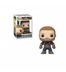 Figurine Marvel Infinity War - Captain America Pop 10cm