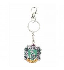 Porte clé Harry Potter - Serpentard Logo Metal 4cm
