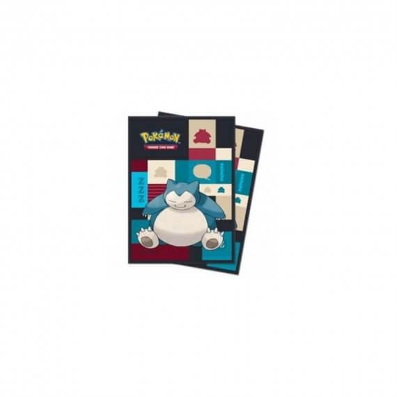 Ultra Pro - Lot de 65 Protèges cartes souples Pokémon Ronflex