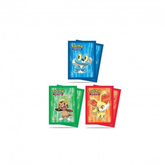 Ultra Pro - Lot de 65 Protèges cartes souples Pokémon XY