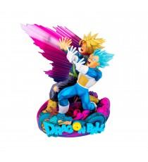 Figurine DBZ - Vegeta & Trunks Super Master Star Piece The Brush Variant Color 20cm