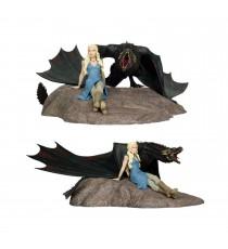 Figurine Game of Thrones - Daenerys & Drogon Deluxe 35x45cm