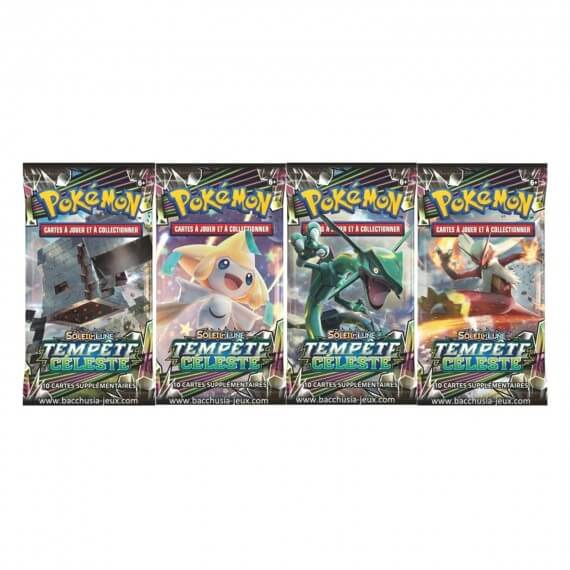 Pokemon - Booster Blister Lune et Soleil Tempête Celeste - Modele Aleatoire