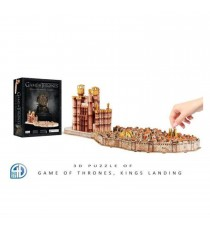 Puzzle 3D Game Of Thrones - Carte De Port Real 260 Pcs