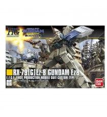 Maquette Gundam - RX-79 Gundam Ez8 Gunpla HG 155 1/144 13cm
