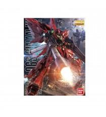 Maquette Gundam - Sinanju (Anime Color Ver.) Gunpla MG 1/100 18cm