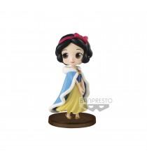 Figurine Disney - Blanche Neige Winter Costume Q Posket Characters Petit 7cm