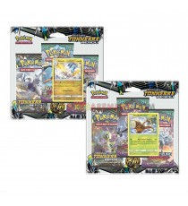 Pokemon - Pack 3 Booster Soleil lune + Carte Promo Aléatoire