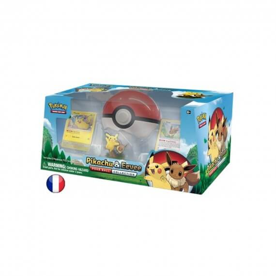 Coffret Pokemon - Collection Pokéball : Pikachu et Evoli