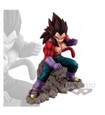 Figurine DBZ - DBGT Vegeta Super Saiyan 4 On The Rock 16cm
