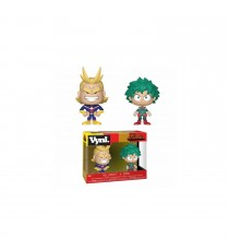 Figurine My Hero Academia - 2-Pack Deku & All Might Vynl 10cm