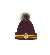 Bonnet Harry Potter - Gryffondor pourpre et or