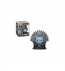 Figurine Game Of Thrones - Night King On Iron Throne Pop 15cm