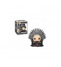 Figurine Game Of Thrones - Daenerys Targaryen On Iron Throne Pop 15cm