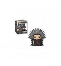 Figurine Game Of Thrones - Jon Snow On Iron Throne Pop 15cm