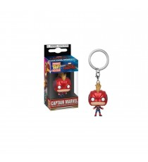 Porte Clé Marvel Captain Marvel Movie - Captain Marvel Pocket Pop 4cm