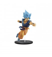 Figurine DBZ Super Movie - Son Goku Super Saiyan Blue Ultimate Soldiers 20cm