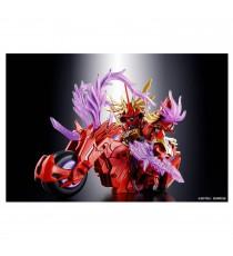 Maquette Gundam - Lyu Bu Sinanju Red Hare Gunpla SD 08 8cm