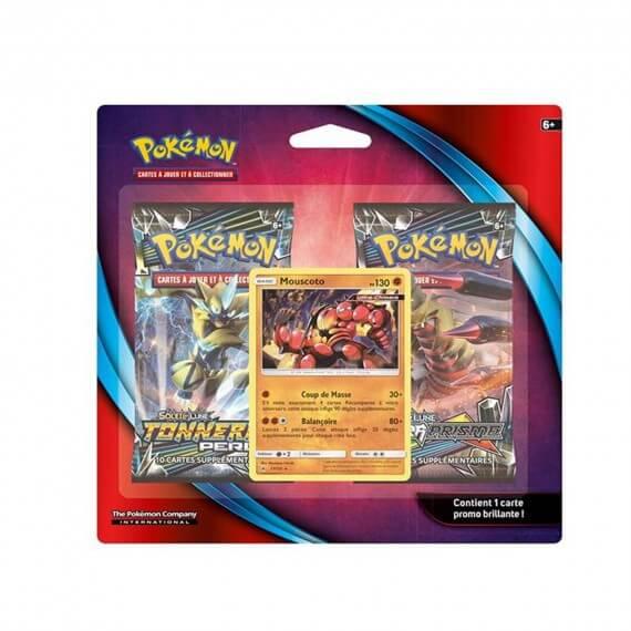 Pokemon - Pack 2 Booster + 1 Carte Promo