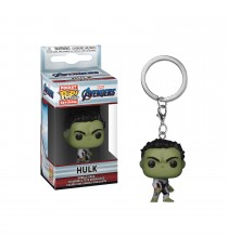 Porte Clé Marvel Avengers Endgame - Hulk Pocket Pop 4cm