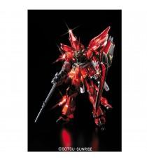 Maquette Gundam - MSn-06S Sinanju Ver Ka Titanium Finish MG 1/100 18cm