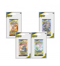 Pokemon - Booster Blister Lune et Soleil Alliance Infaillible - Modele Aleatoire