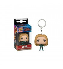 Porte Clé Captain Marvel - Vers Exclu Pocket Pop 4cm