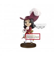Figurine Disney Peter Pan - Capitaine Crochet Q Posket Petit Villain 7cm