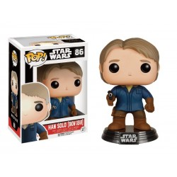 Boite Abimé - Figurine Star Wars Episode 7 - Han Solo Snow Gear Exclu Pop 10cm