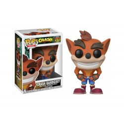 Boite Abimé - Figurine Crash Bandicoot - Crash Bandicoot Pop 10cm