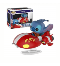 Figurine Disney - Stitch On Red One Exclu Pop Rides 15cm