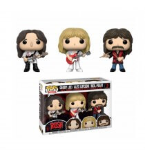Figurine Rocks Rush - 3-Pack Geddy Alex Neil Pop 10cm