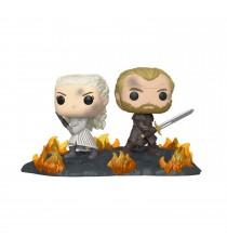 Figurine Game Of Thrones - Daenerys & Jorah Movie Moments Pop 10cm
