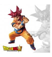 Figurine DBZ - Super Saiyan God Son Goku Blood Of Saiyans Special VI 17cm