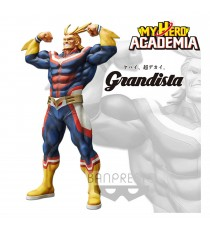 Figurine My Hero Academia - All Might Exclusive Overseas Grandista 28cm