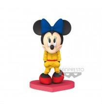 Figurine Disney - Minnie Mouse Jaune Dressed 10cm