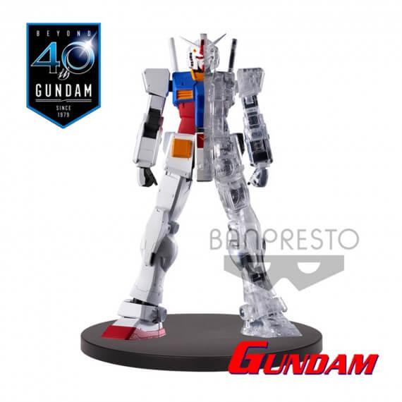 Figurine Gundam - RX 78-2 Half Clear Internal Structure 14cm