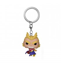 Porte Clé My Hero Academia - All Might Silver Age Pocket Pop 4cm