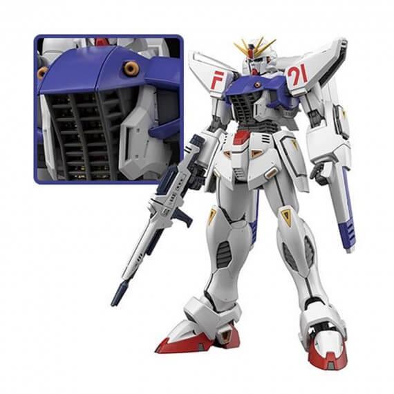 Maquette Gundam - Gundam F91 Ver.2.0 Gunpla MG 1/100 18cm