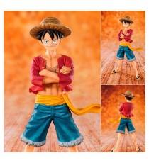 Figurine One Piece - Monkey D Luffy Straw Hat 14cm