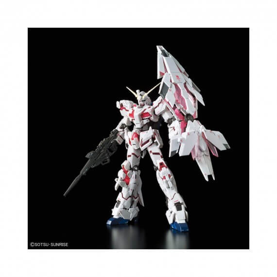 Maquette Gundam - Unicorn Gundam Bande Dessinée Ver. Gunpla RG 1/144