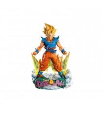 Figurine DBZ - Diorama Son Goku Super Saiyan Super Master Stars Piece 20cm